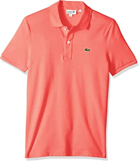 Mens Classic Pique Slim Fit Short Sleeve Polo Shirt