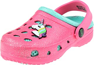 Toddler Girls Allover Two Tone Injected EVA Clog with Tie Dye Ling