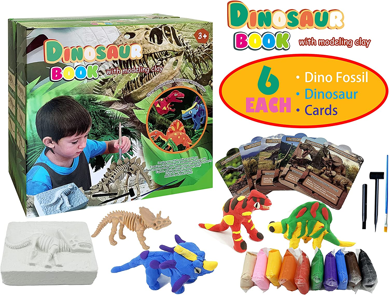 Dino Fossil Dig Kit Science Archaeology STEM Learning & Education Dinosaur...