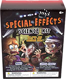 MMP Living Halloween Special Effects - SFX Make-up for Bone, Scars, Stitches, Blood with Stop Motion Animation kit and Illustrated Booklet