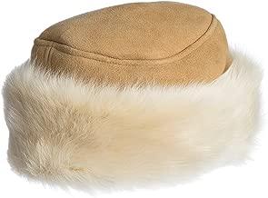 Spanish Shearling Sheepskin Cossack Hat with Toscana Trim