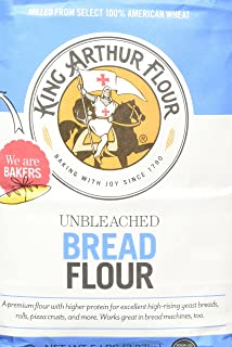 King Arthur Flour - Unbleached Bread Flour, 80 Ounce (Pack of 2)