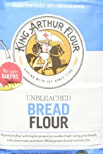 King Arthur Flour - Unbleached Bread Flour, 80 Ounce (Pack of 2)