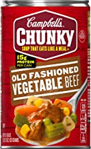 Campbell's Chunky Old Fashioned Vegetable Beef Soup, 18.8 oz. Can