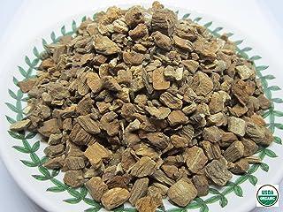 Organic Burdock Root 우엉차 - Arctium lappa Roasted Loose Burdock Root Cut 100% from Nature (4 oz)