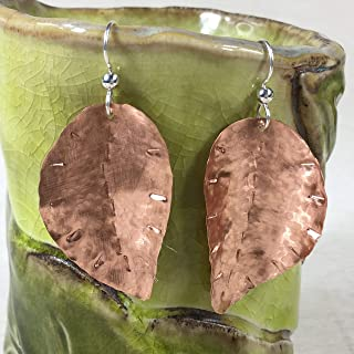 hand forged earrings