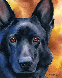 Best black german shepherd painting Reviews