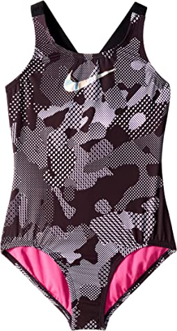 Optic Camo Cross-back One-Piece (Little Kids/Big Kids)