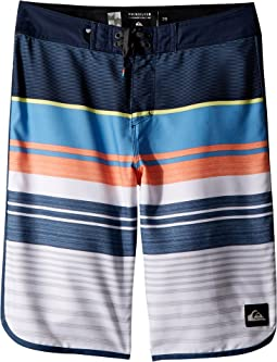 Eye Scallop Boardshorts (Big Kids)
