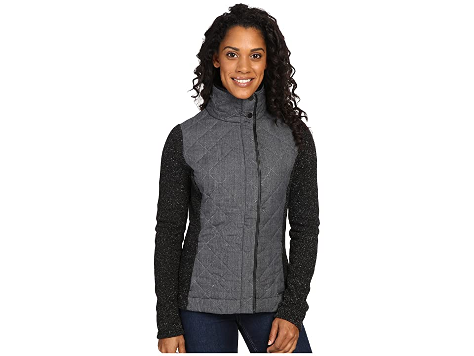 Smartwool Pinery Quilted Jacket (Charcoal Heather) Women