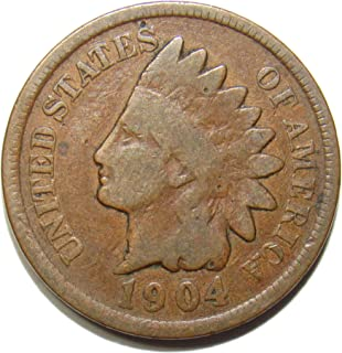 1904 Indian Head Cent 1c Very Good