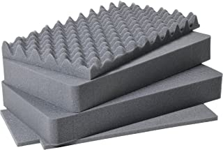 Pelican Products 1510-400-000 1511 4-Piece Replacement Foam Set for 1510 Case (Black)
