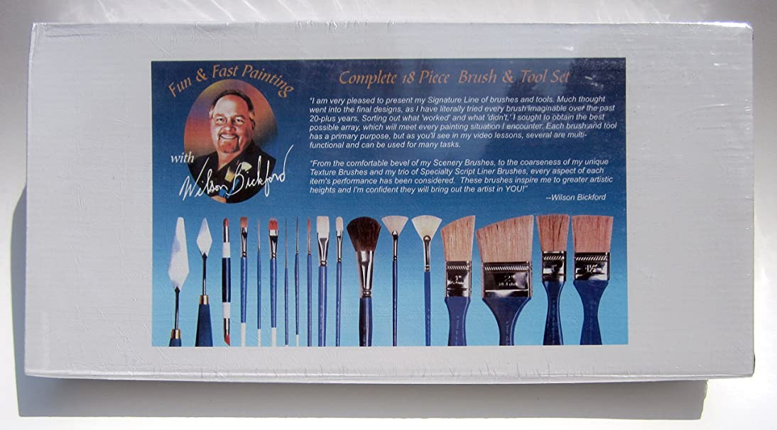 Wilson Bickford Signature Series - Complete Brush and Tool Set