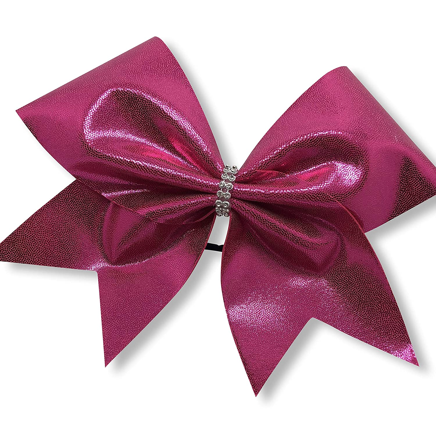 BlingNBoutique Hot Pink Cheer Simply Portland Mall Bow Max 63% OFF -