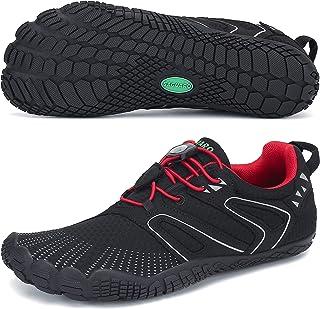 SAGUARO Unisexe Chaussures Minimaliste Fitness Jogging Chaussures de Multisports Gym Trail Randonnée, Indoor & Outdoor