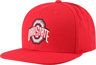 Top of the World Men's Flat Brim Fitted Hat Team Icon