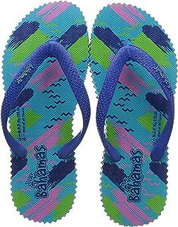 BAHAMAS Women R. Blue/Mint Flip-Flops-5 UK (38 EU) (BH0113L_RBMT0005)