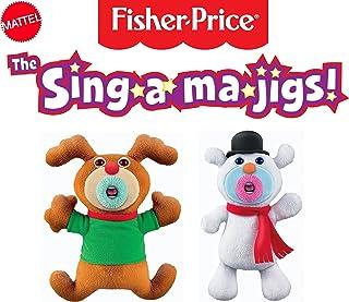 Mattel The Sing-A-Ma-Jigs 圣诞组合组合套装 - 驯?#36141;?#38634;人