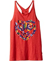 Stella McCartney Kids - Rosalee Swirly Heart Face Tank Top (Toddler/Little Kids/Big Kids)