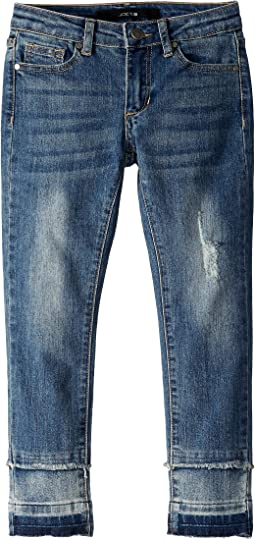 Mid-Rise Color Block Jeans in Echo (Little Kids/Big Kids)