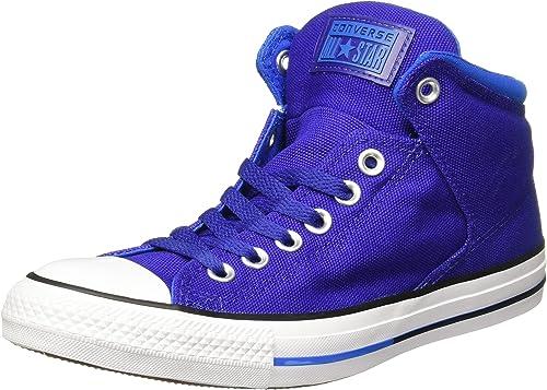 Converse Unisex Mens Chuck Taylor All Star High Street Hi Fashion Turnzapatos, True Indigo Soar blanco, 9