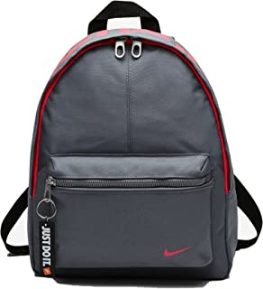 Nike Kids' Classic Mini Backpack,Cool Grey/Black/Racer Pink,One Size