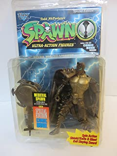 McFarlane Spawn - Special Edition Gold Medieval Spawn