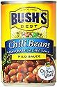 BUSH'S BEST Mild Pinto Chili Beans, Canned Beans, Prime Pantry, 16 oz.