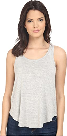 Heathered Spandex Jersey Tank Top