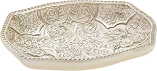 Creative Scents Victoria Soap Dish for Bathroom Decorative Dry Bar Holder- Durable Resin Design- Best Dishes for Sink/ Bat...