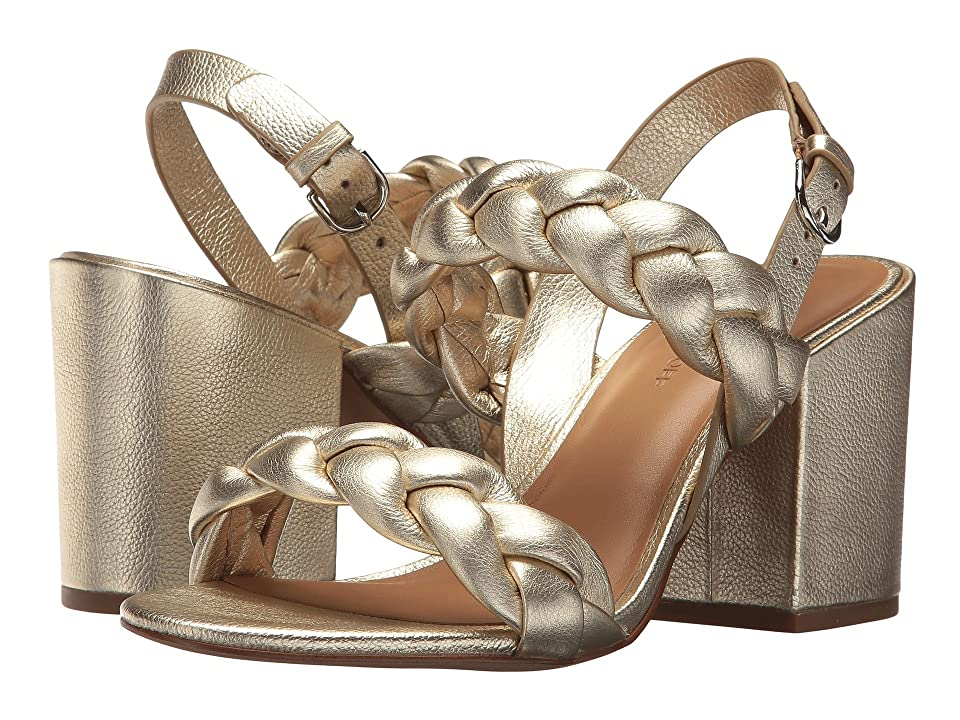 Rebecca Minkoff Candance (Champagne Metallic Leather) High Heels