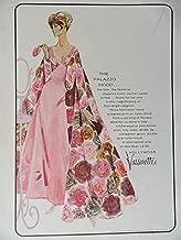 Hollywood Vassarette, 60's Full Page Color Illustration, 8 1/2