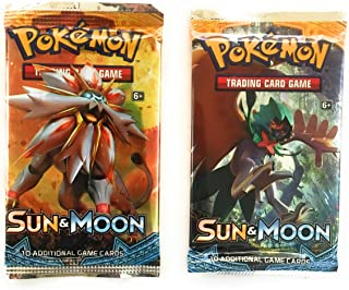 Pokemon Card Game Sun and Moon Booster Pack (10 cards)