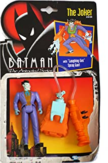Kenner DC Comics Batman: The Animated Series The Joker (with Laughing Gas Spray Gun) Action Figure 4.75 Inches