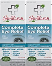 Similasan Complete Eye Relief Eye Drops Bottle, for Temporary Relief from Red Eyes, Dry Eyes, Burning Eyes, Watery Eyes, 0...