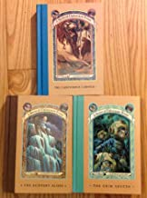 3 Books! #9,#10,#11, 1) The Carnivorous 2) The Slippery Slope 3) The Grim Grotto (A Series of Unfortunate Events)