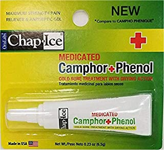 Oralabs Chap Ice Medicated Camphor Phenol Cold Sore Treatment