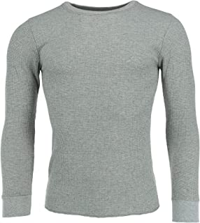 Fruit of the Loom Men's Waffle Weave Crew Neck Thermal Top