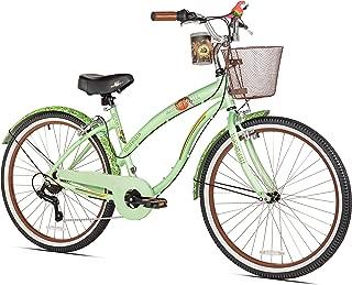 Coast Is Clear Women's Beach Cruiser Bike, 26-Inch