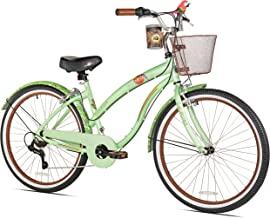 Margaritaville Coast Is Clear Women's Beach Cruiser Bike, 26-Inch