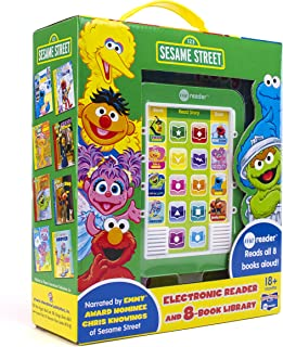 Sesame Street - Me Reader Electronic Reader and 8-Book Library - PI Kids