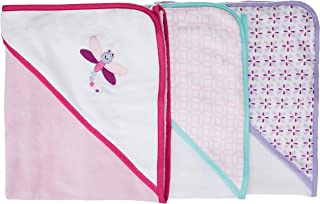 Luvable Friends Unisex Baby Cotton Terry Hooded Towels, Dragonfly, One Size