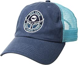 Low Pro Tuna Tail Patch Trucker Hat