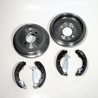 x2 MAXGEAR 19-3185 Bremstrommel