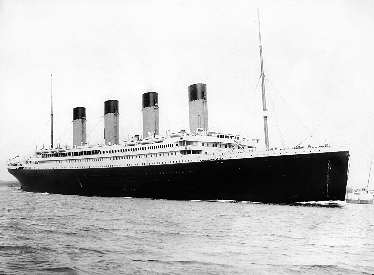 RMS Titanic Departing Southampton April 10 1912 Price reduction Hist Photo Great Limited price sale