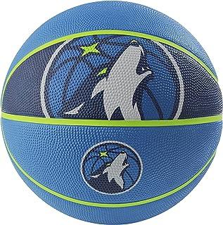 """NBA Minnesota Timberwolves NBA Courtside Team Outdoor Rubber Basketballteam Logo, Blue, 29.5"""""""