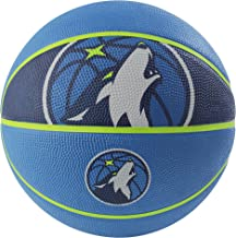 "Spalding NBA Courtside Team 29.5"" Outdoor Rubber Basketball"