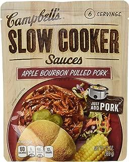 Campbell's Slow Cooker Sauces Apple Bourbon BBQ