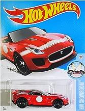 Hot Wheels 2016 HW Showroom '15 Jaguar F-Type Project 7 Convertible 111/250, Red