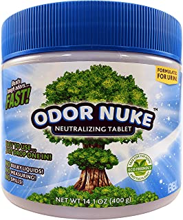 ODOR NUKE – Professional Human Urine Odor Remover – Concentrated Tablets +..